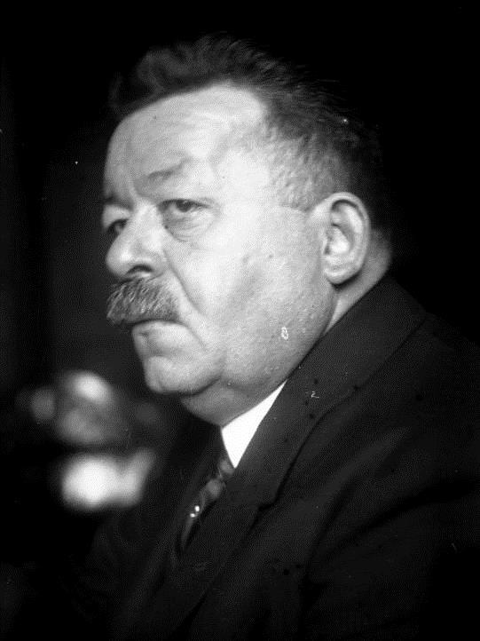 Berlin. Reichspräsident Ebert tot! Porträt des Reichspräsidenten Ebert.